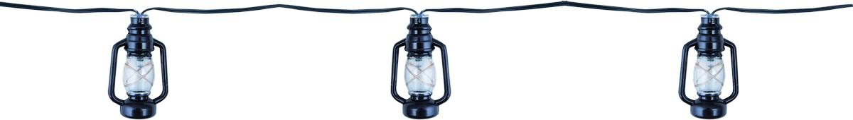 HEITRONIC - LED Solar Lichterkette LATERNE 12-teilig