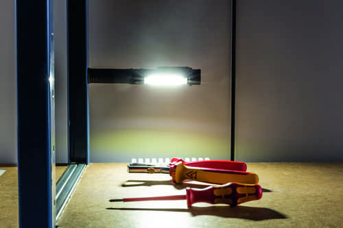 Heitronic - LED Taschenlampe DEXTER 2 batteriebetrieb 3xAAA (nicht enthalten) 1,5 Watt Neutralweiss