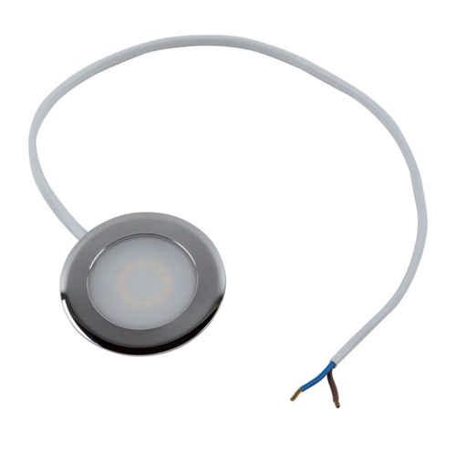 HEITRONIC - LED Einbaustrahler CASABLANCA chrom 2 Watt Warmweiss 3000 Kelvin